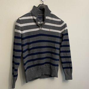 Classic half zip sweater